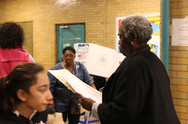 Camella Pinkney Price, 54, voting for Jill Stein