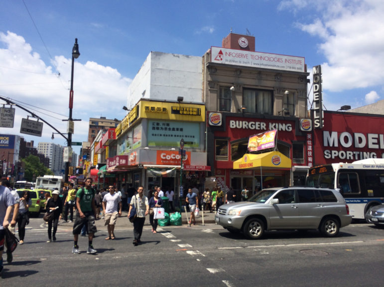 Rezoning or no, local leaders have strong concerns about Flushing's increasingly overtaxed infrastructure.