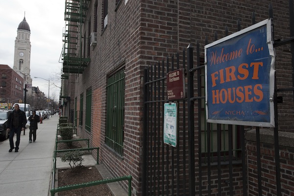 First Houses, on the Lower East Side, is where public housing began in the United States.