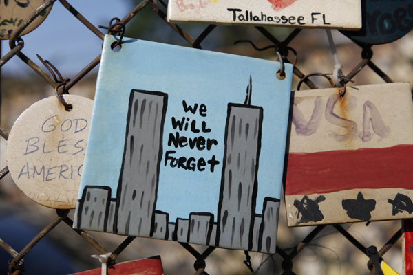 Remembering the tragedy at Tiles for America on Seventh Avenue.