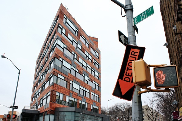 The PATH building in the south Bronx, where families go to apply for shelter in the DHS system, only one of several places homeless New Yorkers can end up.