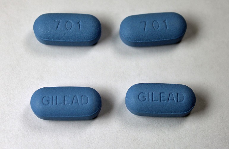Truvada pills. They are one of several medications that are commonly part of anti-retroviral therapy that can prevent HIV from becoming AIDS.