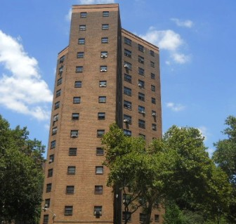 NYCHA's Baruch Houses.