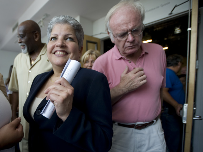 Maria del Carmen Arroyo was first elected in 2005.