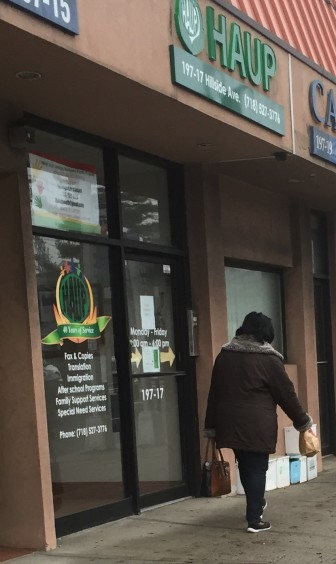 Haitian Americans United for Progress in Hollis, Queens, sees many cases of immigrants trying to stretch their visa long enough to apply for a green card.