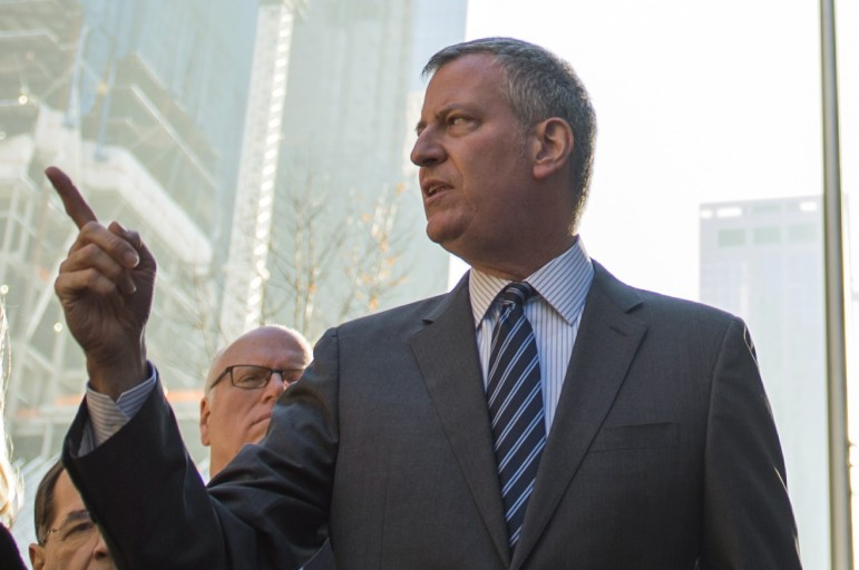 De Blasio has received credit for addressing income inequality as a central goal of OneNYC.