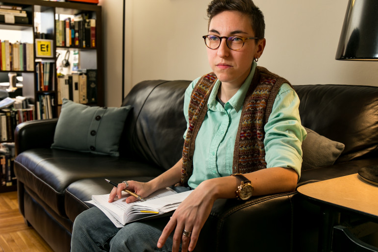 Christina Quintana, a New York-based playwright with Cuban and Louisiana roots, would like to see a formal support system for emerging artists of multiracial backgrounds.