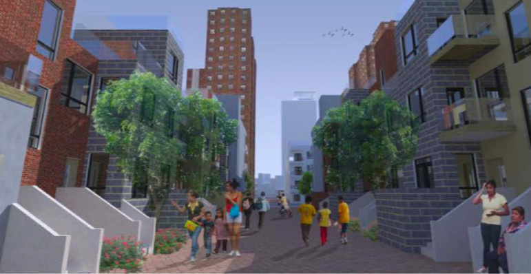 What a NYCHA development could look like is only one part of a plan that would integrate planning into residents' work- and school-lives.