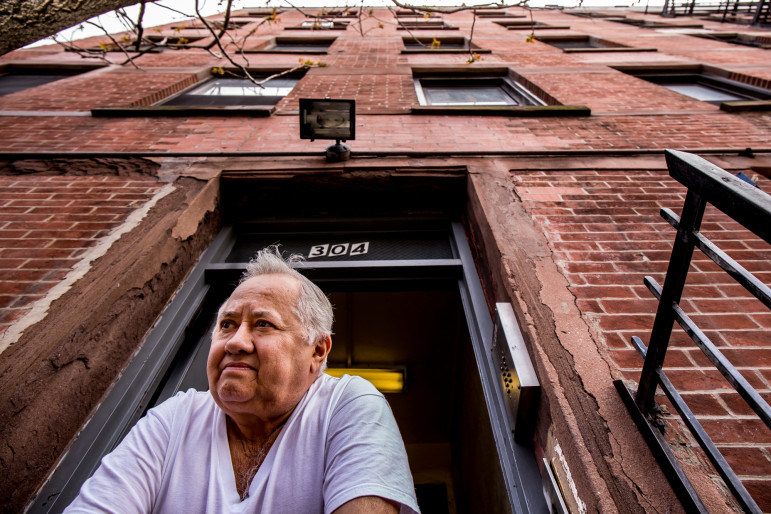 Flor Sanchez has for 55 years been a resident of 304 East 126th Street in East Harlem, where most tenants want to join a local community land trust.
