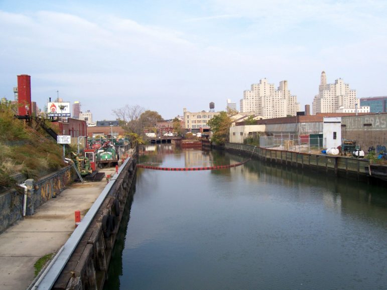 During Superstorm Sandy, the waters of the Gowanus rose, posing a health risk to its neighbors.