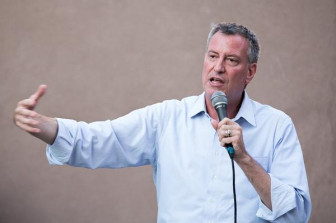 Mayor de Blasio, seen here as a candidate in 2013, when he promised to address problems with the water rate. He recently committed the city to doing that.