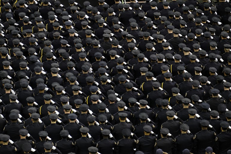 NYPD graduation ceremony, June 2014.