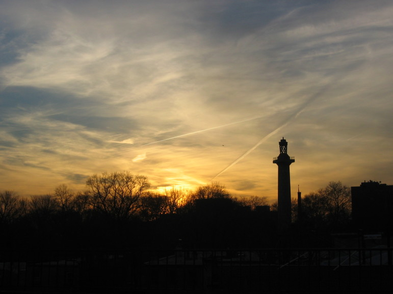 """Fort Greene park sunset"""