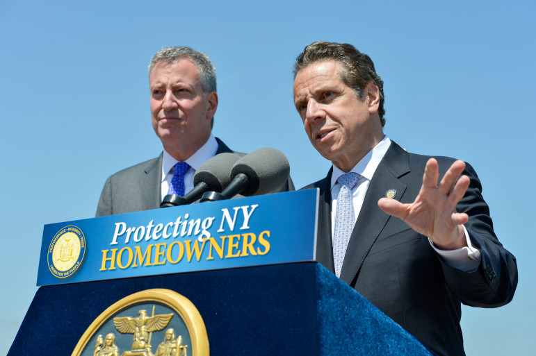 Mayor de Blasio has an ambitious housing agenda, and Gov. Cuomo will soon get to direct the spending of a large payment from a national trust fund, giving both an opportunity to back supportive housing.