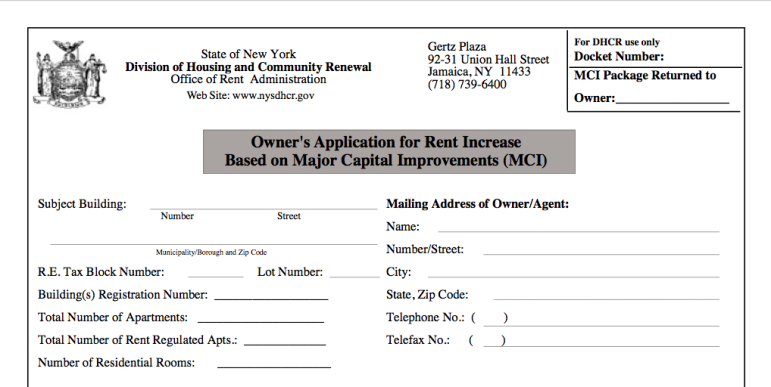 Tenants say state regulators approve MCIs with very little documentation from landlords.