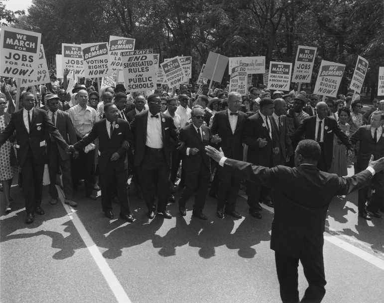 The March on Washington, 1963.
