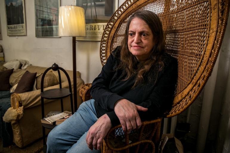 Lucy Levy, a rent-controlled tenant who has lived in her two-bedroom apartment on Ninth Street in the Village since 1955, pays $2,100 a month.