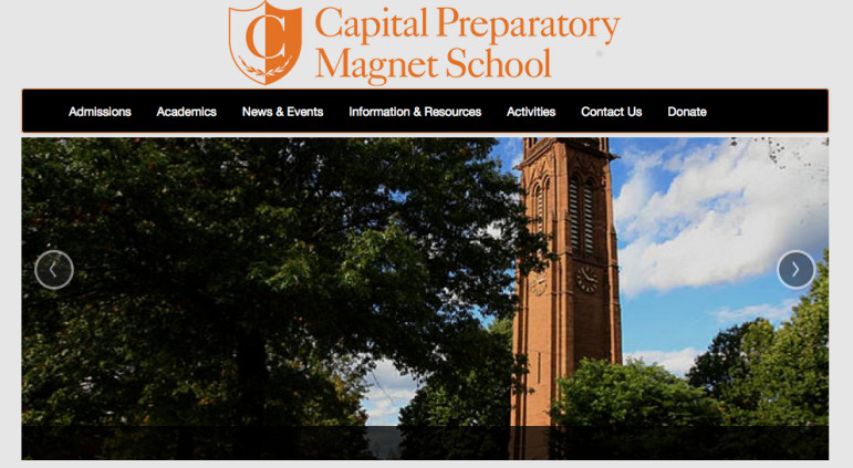 The Capital Prep website. Compared to other Hartford schools, Capital Prep performs very well. When stacked against schools statewide that are more similar demographically, it excels in some areas and lags in others.