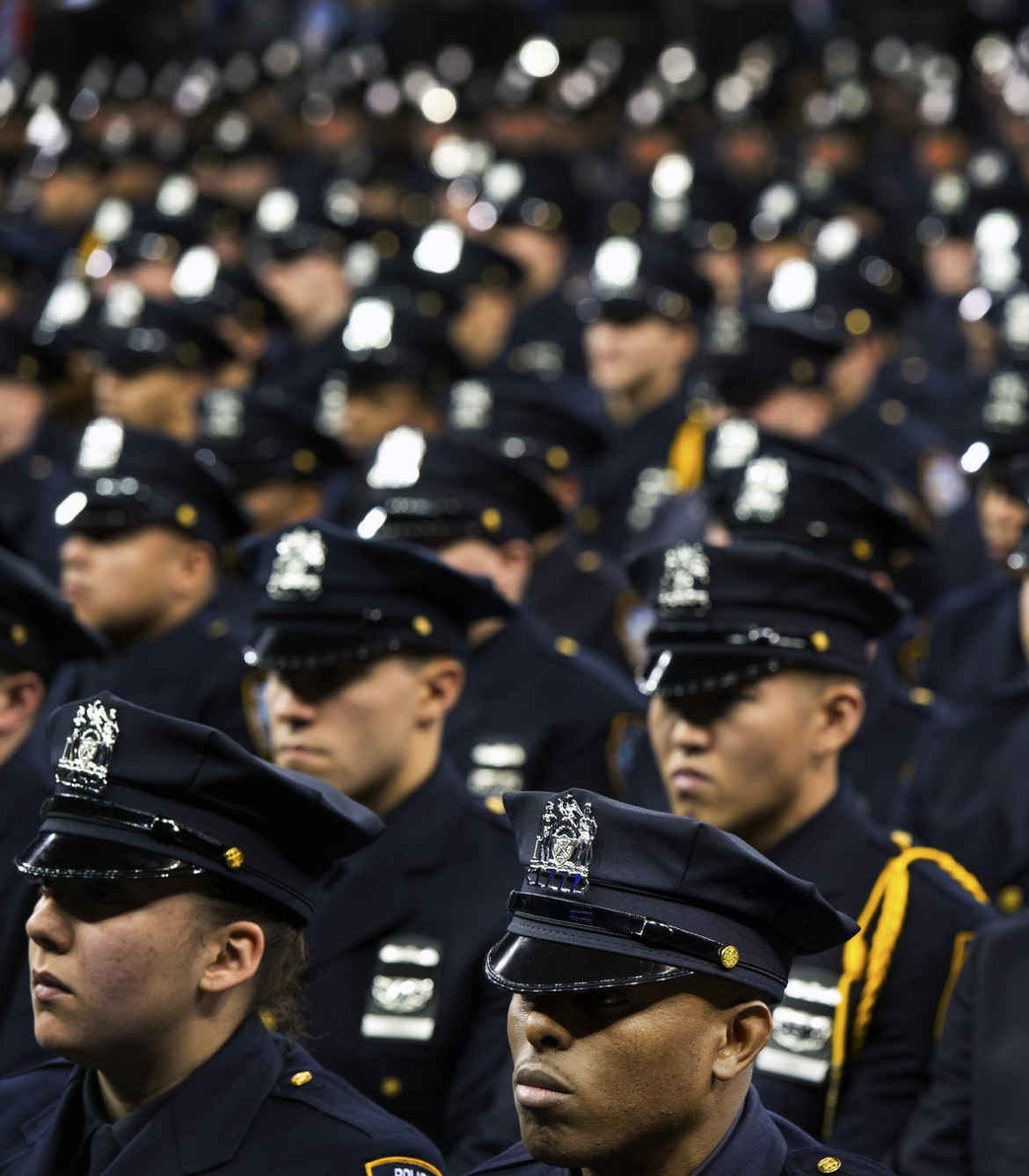 Cop Goes Viral Photo Of New York City: The NYPD Has More Police Officers Than 45 States
