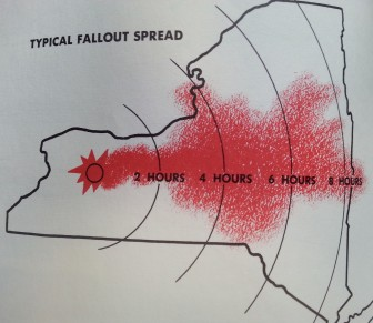 """From """"Survival in a Nuclear Attack,"""" a 1960 New York State report."""