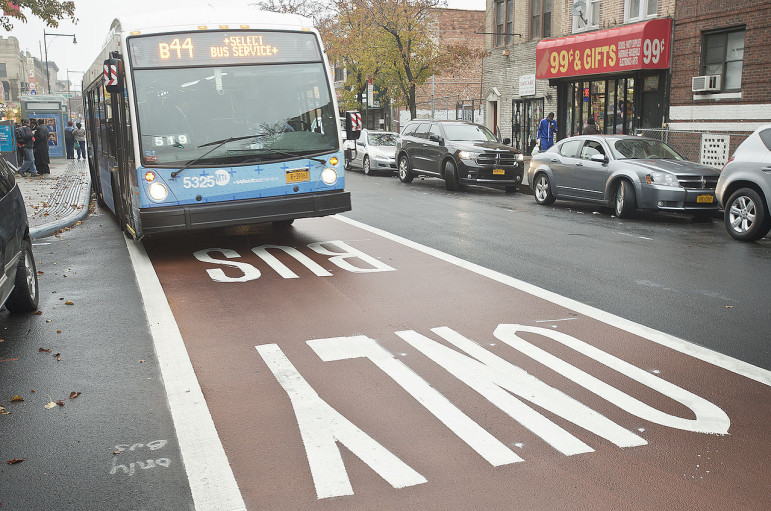 New Yorkers can fight climate change one bus ride at a time. And that will be easier if a bill is passed to create a citywide bus rapid transit network.