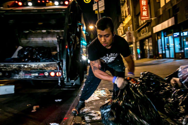 A 2013 report by the Bureau of Labor Statistics listed waste collection as one of the most dangerous jobs in the country.