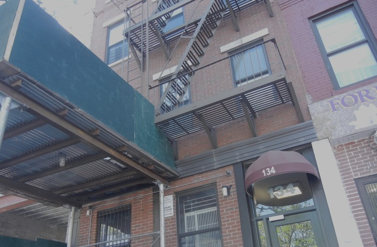 The building at 134 Alexander Ave. in the Mott Haven section of the Bronx is one of several linked to the 2011 HPD scandal.