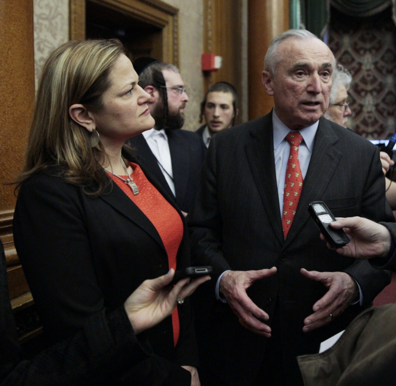 Council Speaker Melissa Mark-Viverito and NYPD Commissioner William Bratton at an event last month.