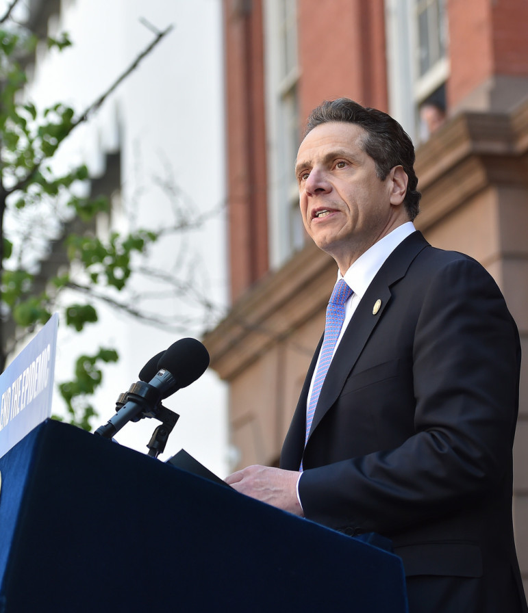 Gov. Cuomo has suggested that changes to the rent regulations might not be possible given the turmoil in the state Senate around the arrest of its leader.