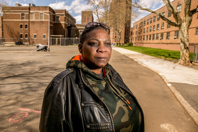 At Van Dyke I in Brownsville, Lisa Kenner uses her connections to the local political apparatus to boost her TA's profile. That hasn't assuaged her anxiety over the possible use of Van Dyke land in a forthcoming NYCHA strategic plan.