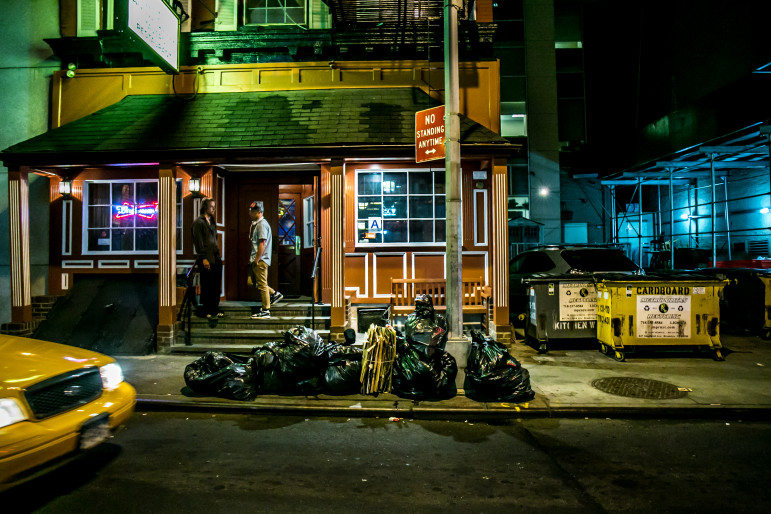 'We have about 100 different private companies picking up commercial trash in this city. '