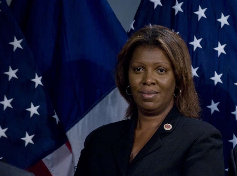 "Public Advocate Letitia James has joined Democratic activist Bill Samuels in pressing for achieving ""retirement security for all"" by pooling workers' contributions into a single pension fund for private-sector workers."