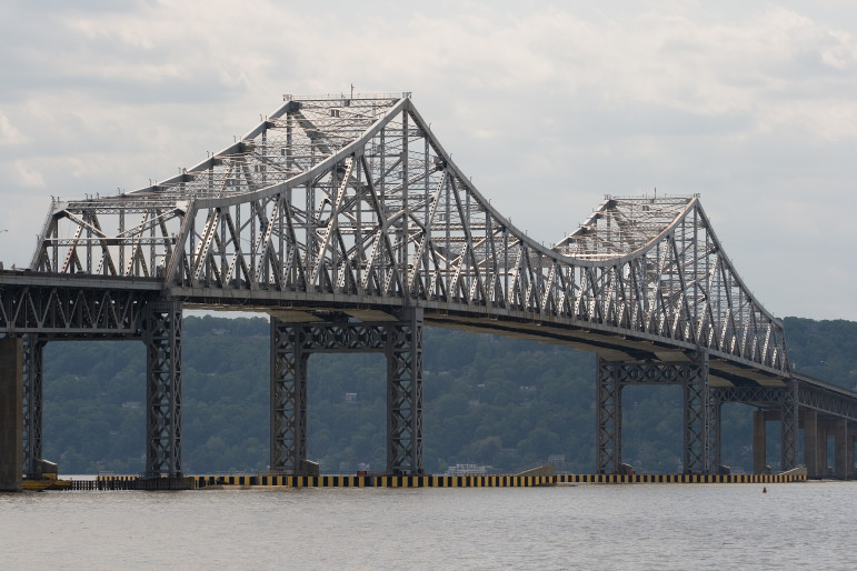 The current Tappan Zee Bridge, now being replaced ... at last.