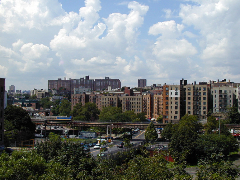 The Bronx (above,) Brooklyn and Queens are the boroughs where crowding is a real issue.