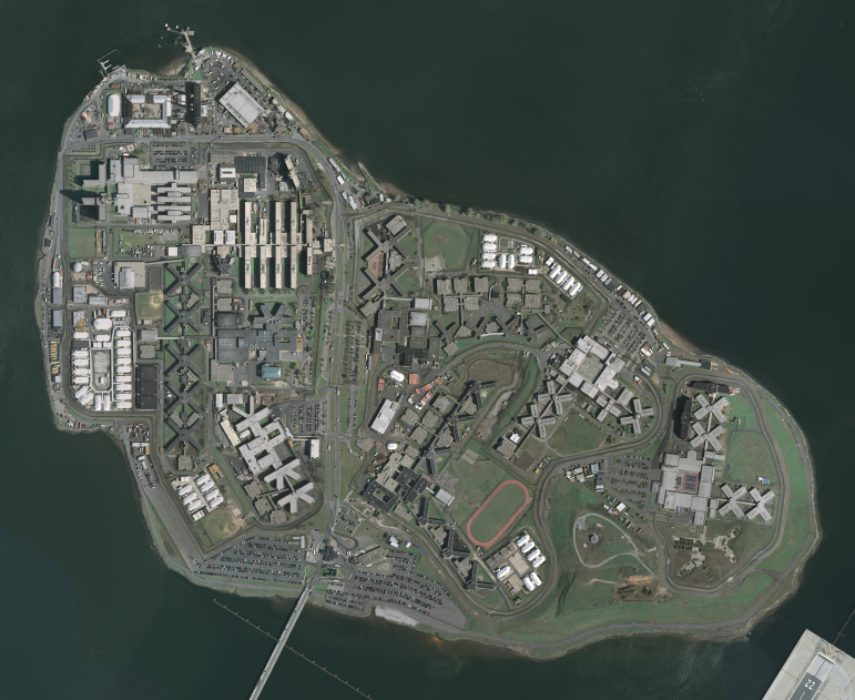 Rikers Island houses not one jail but 10 and represents the bulk of New York City's incarceration capacity. People held there are either awaiting trial or serving sentences of less than one year.