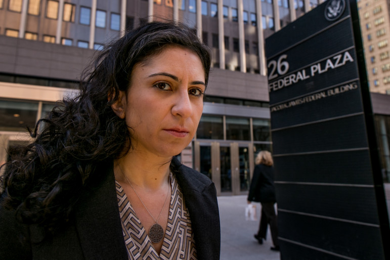 Talia Peleg, an immigration attorney at Brooklyn Defender Services, represented Alex Lora in a case that would eventually reset immigration court policy in the New York City area and beyond.