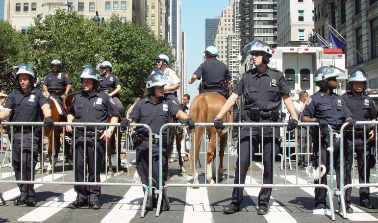 The NYPD has a larger uniformed headcount than the armed forces of 95 countries.