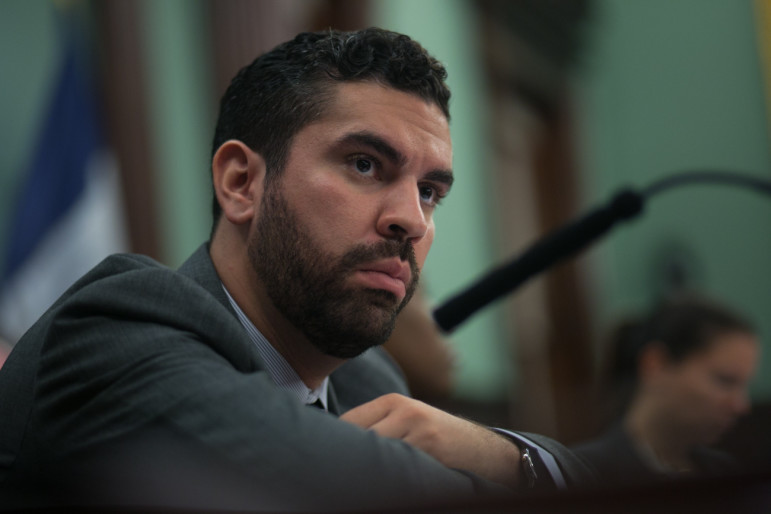 Councilman Rafael Espinal, who represents the bulk of the area that would be rezoned (file photo). He says there's 'a long way to go' to a deal on East New York.