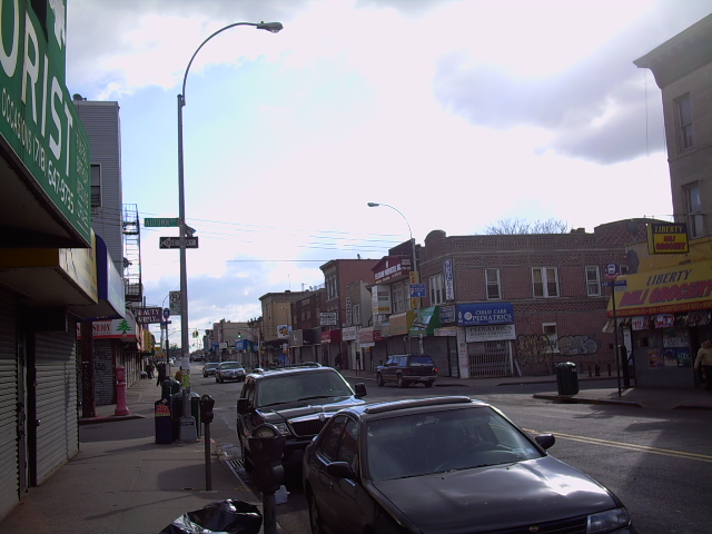 Liberty Avenue in East New York.