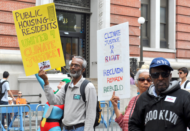 Residents of South Brooklyn recognize that resilience will provide better, but not total, protection. So they are also organizing to reduce the risk of catastrophic climate change.