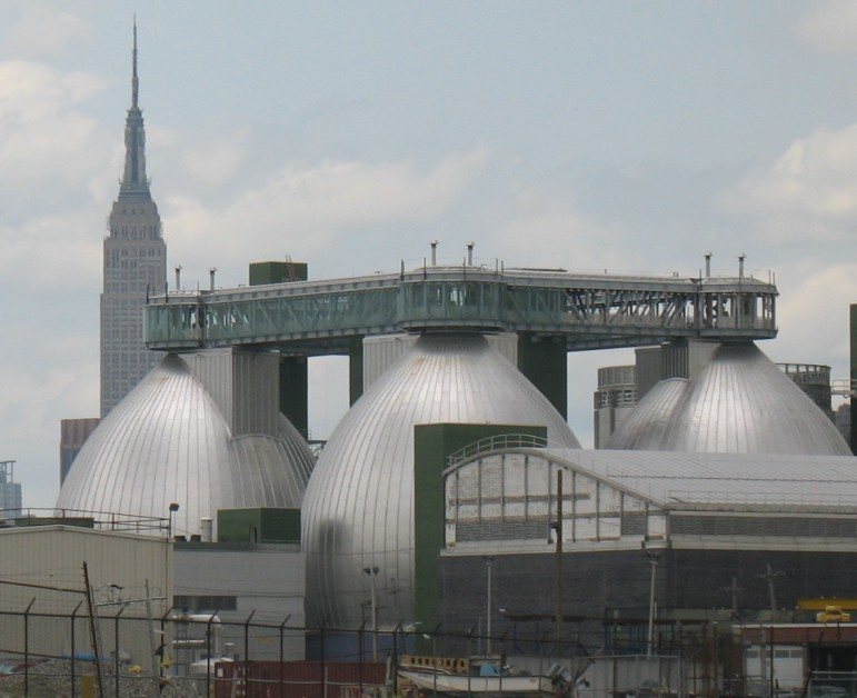 Sewage in the city: The Empire State Building is a landmark. But the Newtown Creek Water Pollution Control Plant is pretty important, too.