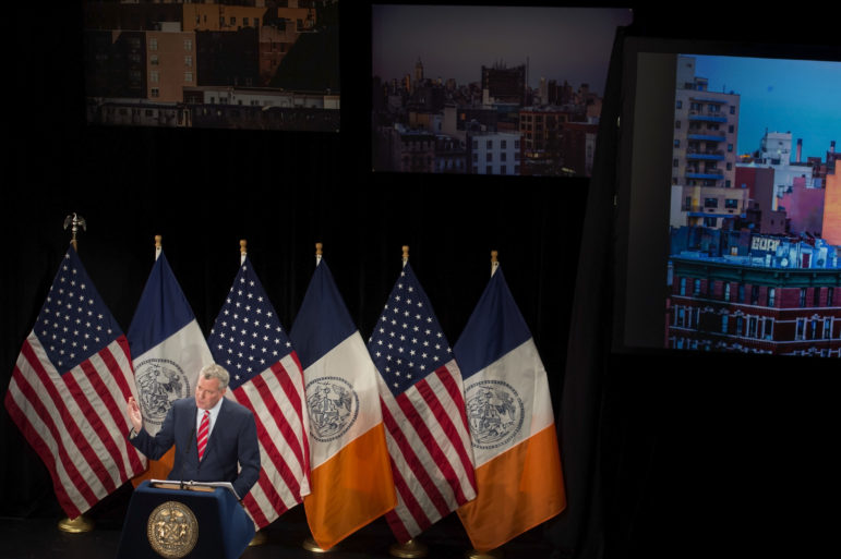 In his 2015 State of the City address, Mayor de Blasio said East Harlem, Jerome Avenue in the Bronx, Bay Street in Staten Island, Flushing and Long Island City would join East New York among the first rezonings. Inwood has since joined the list, leaving up to eight other areas to round out the mayor's goal of 15.