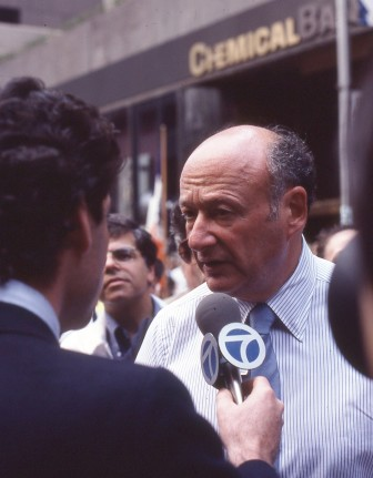 New York mayor Ed Koch. The TIL program began during his first year in office, well before the Ten-Year Plan.