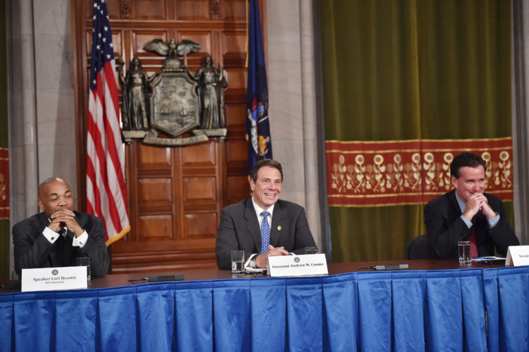 Speaker Heastie, Governor Cuomo, and Senate Majority leader Flanagan have more than one housing-policy matter on their end-of-session plates.