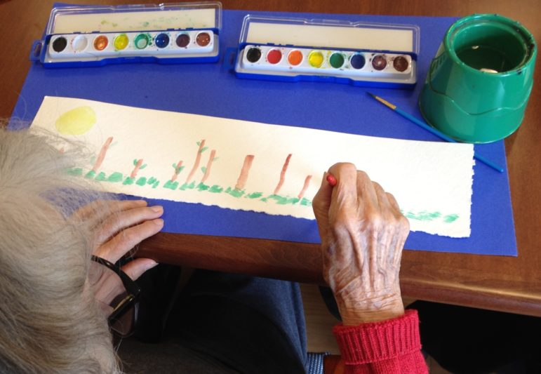 Art therapy has been shown to help patients express feelings and address anxieties when traditional counseling didn't help.