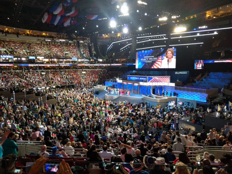 The Democratic National Convention.
