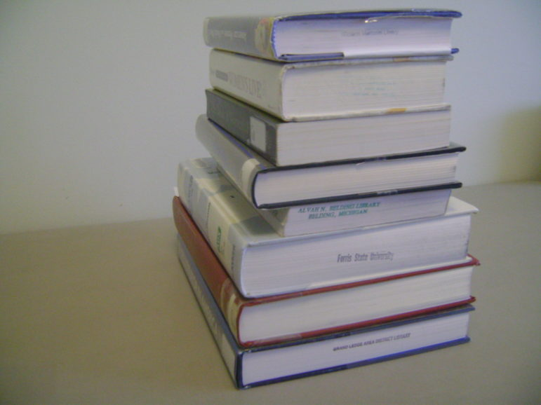 Mel_nest_stack_of_books
