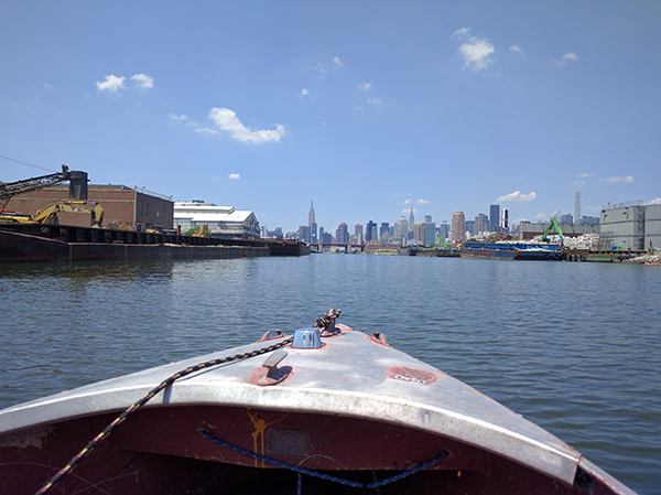 The view from Newtown Creek.