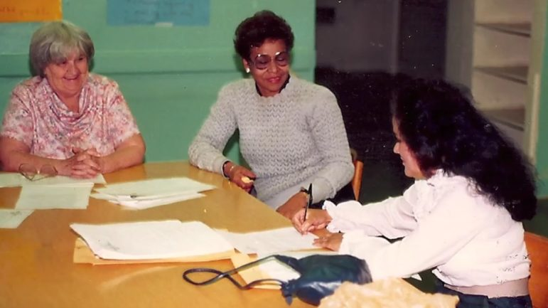 Early Bronx neighborhood advocates—including (from left to right) Anne Devenney, Phyllis Longsworth and Dalma De La Rosa—bridged racial divides with a pragmatic approach necessitated by the scope of the crisis their communities faced.