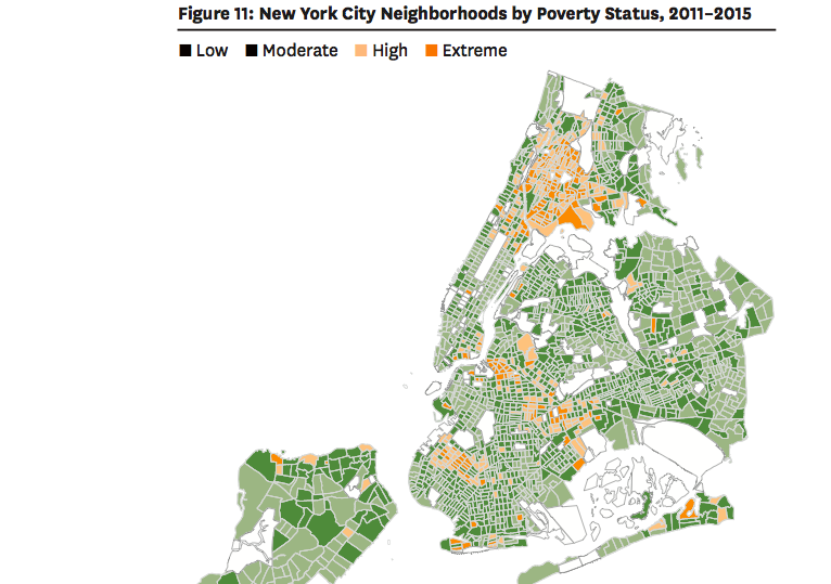 Report Rents Rose But So Did Poverty City Limits - Extreme poverty map